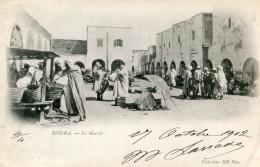 ALGERIE(BISKRA) MARCHE - Biskra