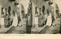 ALGERIE(BISKRA) CARTE STEREO - Biskra