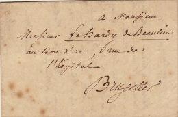 Lac 19 Octobre 1836 En Tête Université Libre De Belgique à Lehardy De Beaulieu Chateau De Fichermont Lasnes - België