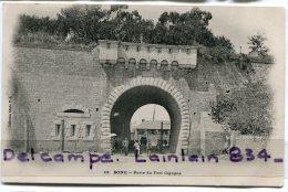 - 13 - BONE - Porte Du Fort Cigogne, Animation, écrite, 1906, Pour Puget Théniers, TBE, Scans. - Annaba (Bône)