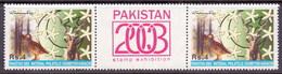 2003 Pakistan Red-legged Partridge, Markhor, Animal, Bird, Flowers, National Stamp Exhibition (2v) MNH (PK-67)