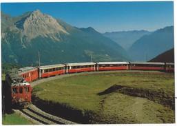 15811 - Der Bernina-Express Der Rhätischen Bahn Auf Der Alp Grüm  (format 10X15) - GR Grisons