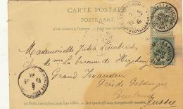 Carte Postale Bruxelles Russie Russe Lambrichs Lehardy De Beaulieu à Baronne De ... - Bélgica