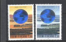 Finlande 1990 N°1064/65 Neufs Société Des Postes Et Télécommunications - Finland