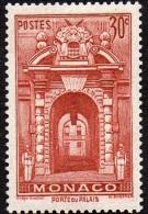 Monaco - N°  171 A * La Porte Palais - 30c Rouge Brique - Monaco