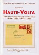HAUTE VOLTA - Essai De Classification Des Oblitérations. - Colonies And Offices Abroad