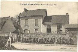 LA CHAPELLE SAINT AUBIN.  Maison D'Ecole Des Filles. - Zonder Classificatie