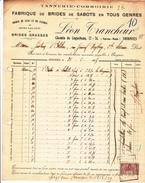 Soignies Chemin De Cognebeau 72-74 - Fabrique Brides De Sabots - Leon Trancheur - 26 Fevrier 1925 - 1900 – 1949