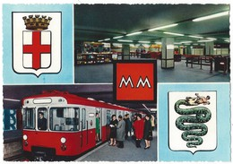 15814 - Milano La Nuova Metropolitana  + Biglietto  (format 10X15) - Milano (Milan)