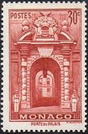 Monaco N°  171 A ** La Porte Palais - 30c Rouge Brique - Monaco