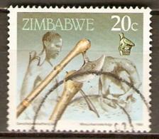 ZIMBABWE     -  1990 .  Artisanat .   Oblitéré.  . - Zimbabwe (1980-...)