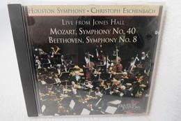 """CD """"Houston Symphony / Christoph Eschenbach"""" Live From Jones Hall, Mozart Symphony No.40, Beethoven Symphony No.8 - Klassik"""