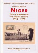NIGER - Essai De Nomenclature Des Bureaux De Poste - Colonies And Offices Abroad