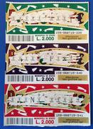 GRATTA E VINCI - Stella Cometa  - STRISCIA DI 3 BIGLIETTI - Lottery Tickets