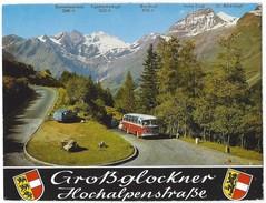 15820 - Grossglockner-Hochalpenstrssen Auffahrt Auf Der Salzburger Oder Nordrampe  Bus (format 10X15) - Autriche