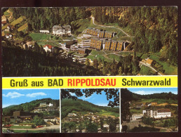 CPM Allemagne Gruss Aus BAD RIPPOLDSAU Schwarzwald Multi Vues - Bad Rippoldsau - Schapbach