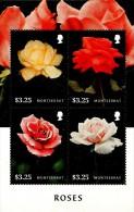 Montserrat - 2015 - Roses - Mint Stamp Sheetlet - Montserrat