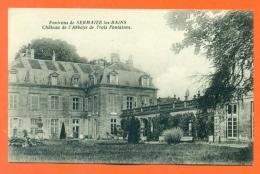 """CPA 51 Environs De Sermaize Les Bains """" Chateau De L'abbaye De Trois Fontaines """"  LJCP2 - France"""