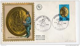 F. D. C. FRANCE - Journée Du Timbre 1975  Plaque De Facteur Sous La II République 31 Verfeil Y.T.  N° 1838 - 1970-1979