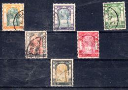 1906  Chulalongkorn 1er,   YT 51 - 56  , Oblitéré, Lot 46607 - Siam