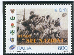 Rugby Italie Tournoi Des 6 Nations 2000  N° 2404 - Rugby
