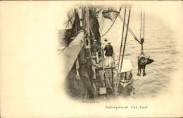 BATEAUX - Carte Postale D ' Un Embarquement D ' Un Bœuf Sur Un Navire - A Voir - L 5070 - Commerce