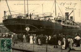 BATEAUX - Carte Postale Du Savoie Dans Le Port Du Havre - A Voir - L 5072 - Commerce