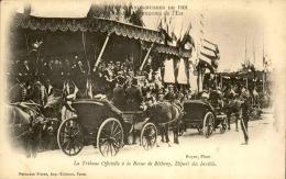 EVÉNEMENTS - Carte Postale Des Fêtes Franco Russes De 1921 , La Tribune Officielle - A Voir - L 5081 - Recepciones