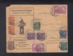 Dt. Reich Brief Drucksache1923 Dresden - Briefe U. Dokumente