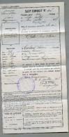 Sauf Conduit  Du 7 Au 10 Juillet 1917 Commune De Chelles En Seine Et Marne       JIP34 - Documents Historiques