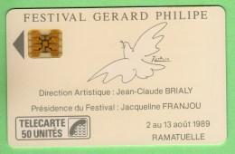 D 165 Festival G.Philipe 1 *** Les Scans Representent La Carte En Vente *** (A8-P18) - France
