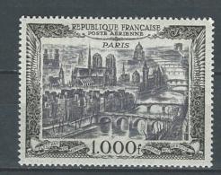 """FR Aerien YT 29 (PA 29) """" Vue De Paris 1000F. """" 1949 Neuf** - 1927-1959 Mint/hinged"""