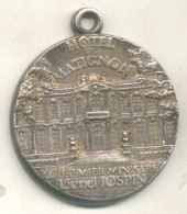 HOTEL DE MATIGNON - LE PREMIER MINISTRE LIONEL JOSPIN MEDAILLE RARE TBE - Italië