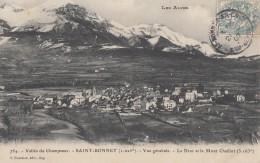 CPA - St Bonnet - Vue Générale - Le Drac Et Le Mont Chaillot ( 3163 M ) - France
