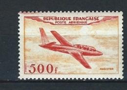 "FR Aerien YT 32 "" Prototype : Magister "" 1954 Neuf** - 1927-1959 Mint/hinged"