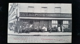CPA D76 Dieppe, Café De La Poste Senateur Gouard - Dieppe