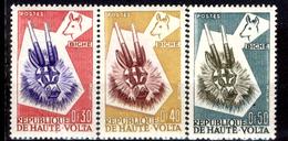 Alto-Volta-001 - Valori Emessi Nel 1960 (++) MNH - Privi Di Difetti Occulti. - Alto Volta (1958-1984)