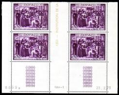 MONACO - YT N°934  Bloc De 4 Coin Daté - Neuf ** - MNH - Ongebruikt