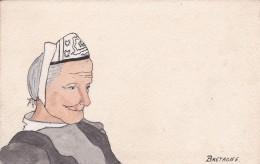 BRETAGNE PORTRAIT DE BRETONNE MP 133 - Bretagne