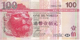 BILLETE DE HONG KONG DE 100 DOLLARS DEL AÑO 2009 (BANKNOTE) - Hong Kong