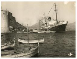 (5000) Cruise Ship - Paquebot - Commandant Quéré In Calvi (Corsica) - Dampfer