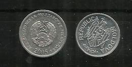 Monnaies De Moldavie & De La République Autoproclamée (russophone) De Transnistrie. (Tiraspol) - Moldova