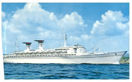 (5000) Cruise Ship - Paquebot - Achille Lauro - Dampfer