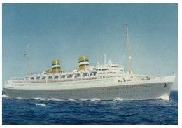 (5000) Cruise Ship - Paquebot - New Amsterdam - Dampfer