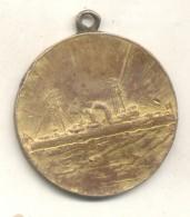 CRUCERO URUGUAY ABRIL 1910 MEDALLA RARE MEDAILLE - Firma's