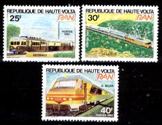 Alto-Volta-008 Valori Emessi Nel 1981 (++) MNH - Privi Di Difetti Occulti. - Alto Volta (1958-1984)