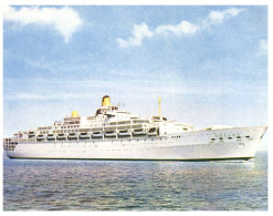 (5000) Cruise Ship - Paquebot - Oriana In Sydney Circular Quay - Dampfer