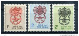 1962 PAPUA NUOVA GUINEA SERIE COMPLETA NUOVA** - Papua Nuova Guinea