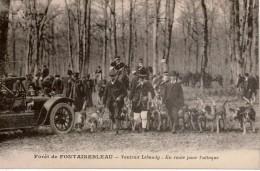 Bon Lot 18 Cpa Vénerie, Chasse à Courre Au Cerf , Diverses Forêts De France , 16 Cartes Sont En Bon état - Postcards