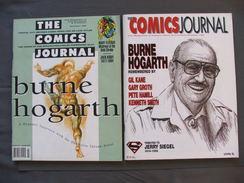 The Comics Journal N°166 Et 184 Burne Hogarth Articles Divers Tarzan En Anglais - Magazines & Newspapers